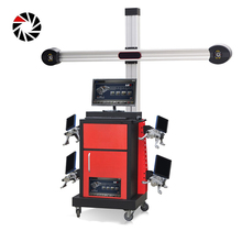 Professional factory 3d wheel alignment and balancing machine for car balancer