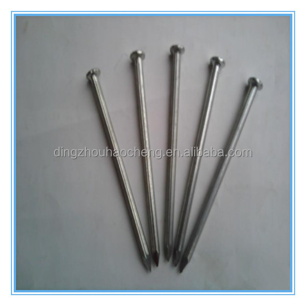 Large stainless steel nails file for gun