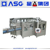 Full automatic and high quality 3 in 1 mineral water filling machines