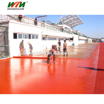 Athletic Polyurethane Running Track & Sport Field