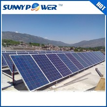 china wholesale 6 kw solar panel/ 6kw grid tie power system