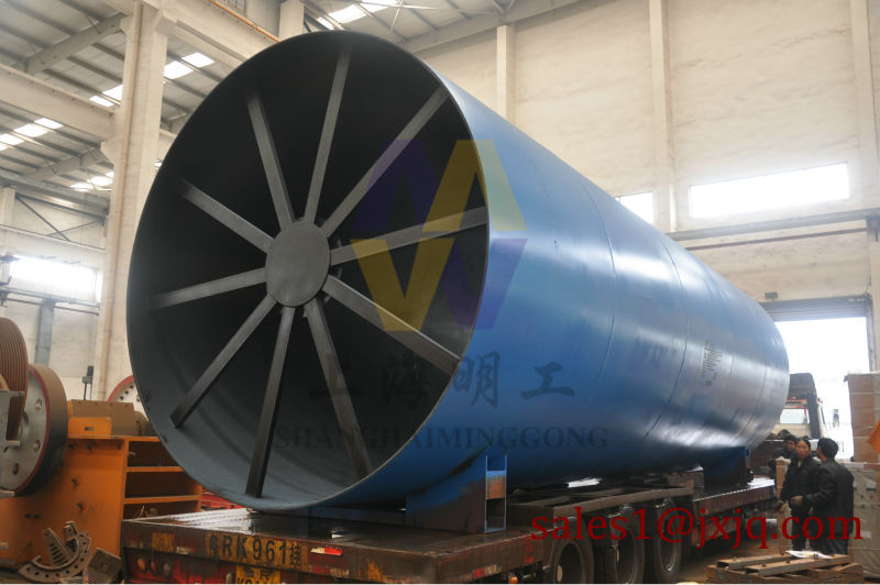 High efficiency and quality lime rotary kiln with high capacity