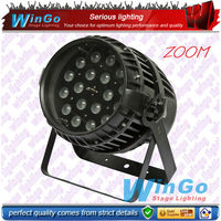 WG-G2009 Alibaba china best selling LED ZOOM stage light / 18x10W rgbw Led Par Light/Led Zoom Par 64 with water proof