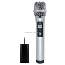 40 Frequency Points UHF Wireless Handheld Microphone apply to Any Speaker with Mic Input