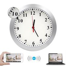 Amazon Hot Selling Best Seller Wifi Clock Spy Camera Hidden CCTV Secret Monitoring Wall Clock Surveillance Camera for <strong>Security</strong>