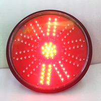 WDM unique design 300mm rotating railway LED traffic signal light rotary warning light