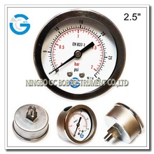 All stainless steel hydraulic oil pressure gauges