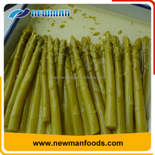 Latest salty green asparagus canned wholesale bulk canned food