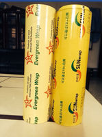 stretch film pvc cling film for packaging food grade plastic wrap