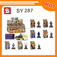 SY287 space war minifigure building block toys for boys
