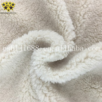 Milk White Color Baolijie Company Direct Supplier Microfiber Shu Velveteen Coral Fleece Fabric Used For Hair Band And Blanket