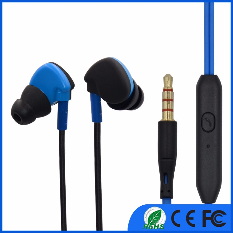 In ear headphones earbuds Cheapest plastic earphone in one dollar