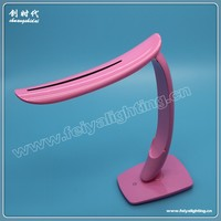 sailing boat shape led touch table lamp with USB recharge battery