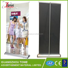 Good Quality Metal Water Drop Wide Screen Roll Up Banner Trade Show Display