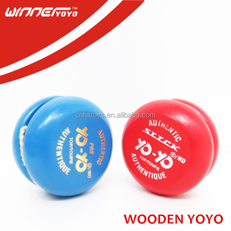 Cheap yoyo wood yoyo wooden yoyo