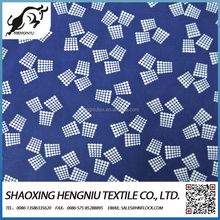 shaoxing textile 100% polyester Printed DTY knitted brushed fabric for garments