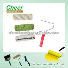 professional paint roller brush fabric & cover, painting tools brushes for global painting market