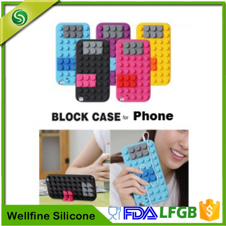 Custom 3D Design Your Own Silicone Phone Case,Cute Silicone Mobile Phone Case