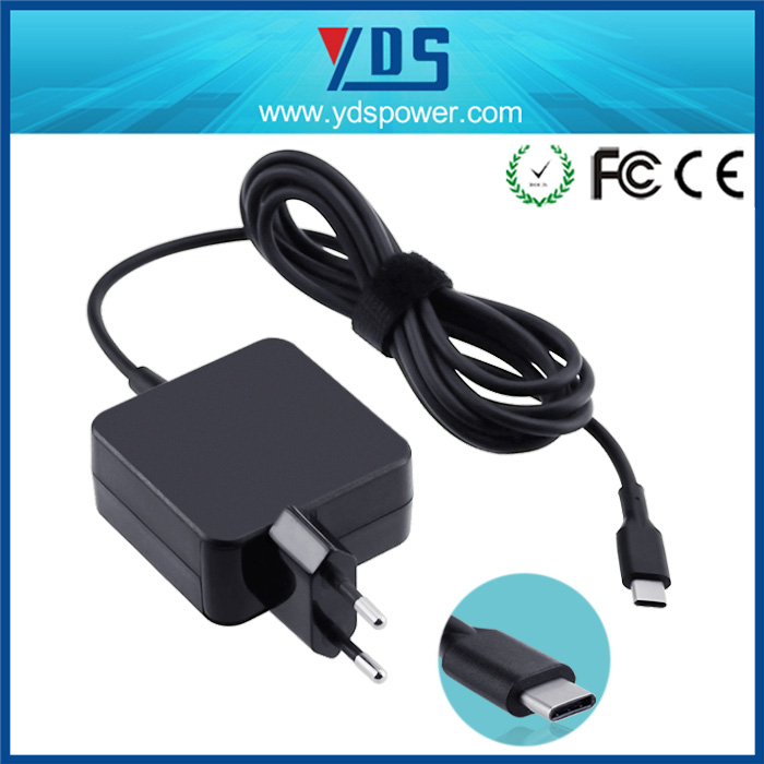 laptop TYPE C PD charger adapter 45W 5V2A/ 12V 2A /20V 2.25A FOR ASUS ZenBook