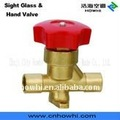 hand valve-solder type, for refrigeration and air conditioning