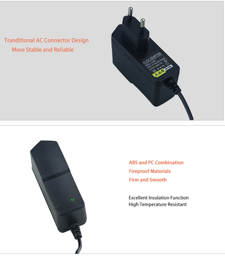 Switching ac dc adapter 5v 2a eu plug power adapter for cctv camera