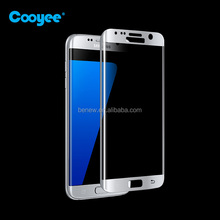 Chinese Supplier 9H 3D Curved Screen Protector Tempered Glass For Samsung Galaxy S7 Edge