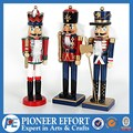 Wooden soldier nutcracker for Christmas decorations