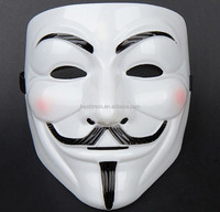 2015 Hot Selling Party Masks V for Vendetta Mask Anonymous Guy Fawkes Fancy Dress Adult Costume Accessory Party Cosplay Masks