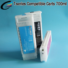 5 Color Refillable Ink Cartridge for Epson T7000 T5000 T3000 Printer