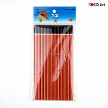 International quality cheap wooden black lead 2B pencil