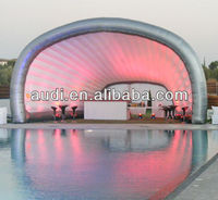 Large Inflatable stage cover structure/inflatable pub