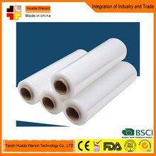 transparent (clear) stretch film made in china (free sample)