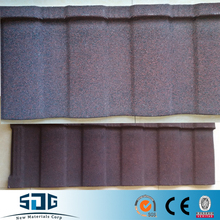 Stone coated color steel roofing sheets