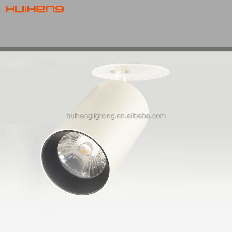 35W cob led track lighting recessed ceiling led spotlight