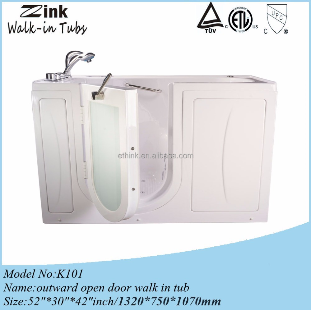 Foshan bathtub small with seat walk in tub shower combo