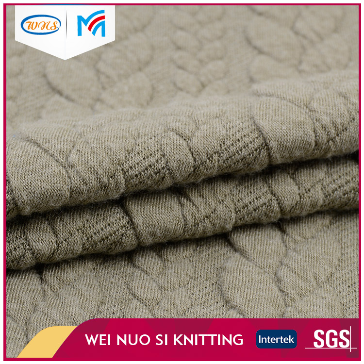 Popular Latest Design TR dyed knit fabric price for mattresses