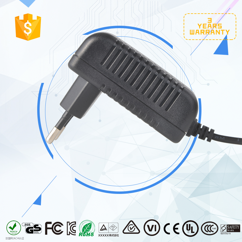 wall plug type 100V-240V 30w power supply 12V 2.5A power adapter/adaptor with CE certificate