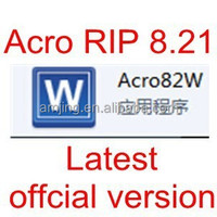 Best price latest version white ink acro rip software 8.21 for DTG printer