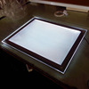 Acrylic Edge-lit super slim LED Picture Frame