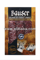 Cured and Smoked Venison/Wild Boar Salame