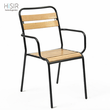 Steel Frame Chair Used Polywood Outdoor Furniture Wholesale