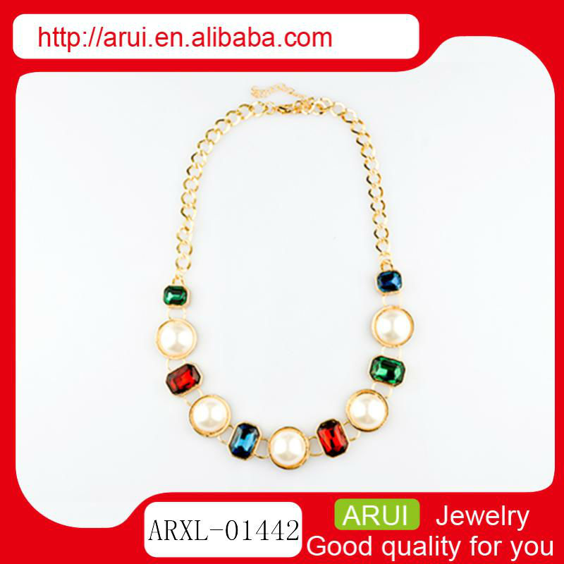 necklace acrylic alloy women gold necklace cool 2013