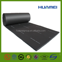 Iso fire resistant closed cell rubber foam insulation sheet