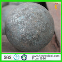High Carbon 120mm Forged Ball in Grinding Media with ISO14001