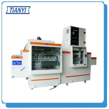 Double-sided professional automatic etching and cutting machine india, PCB production machinery,Chemical etching machine