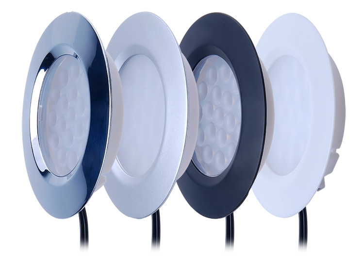 A1110 Suitable in Hanging Cabinet Ceiling Round Recessed and Light colour cool white led puck light led spot light