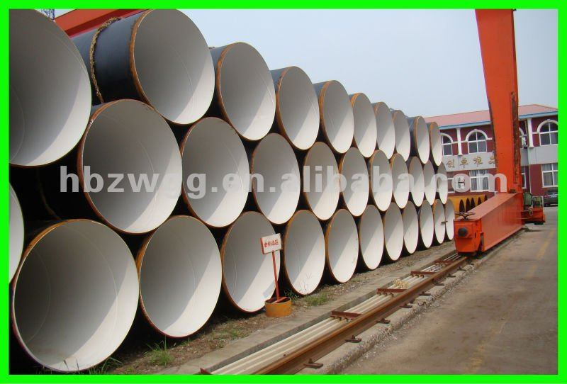 Electric Power Plant Circular Water Pipe/Spiral steel pipe