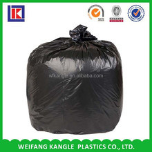 HDPE cornstarch biodegradable star sealed colorful trash Bag on roll