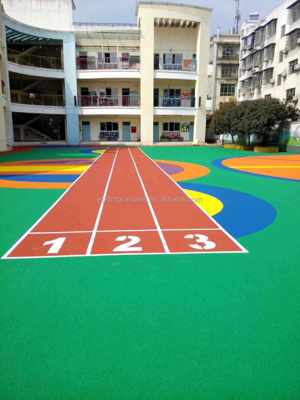 YINHE EPDM RUBBER PLAYGROUNDS