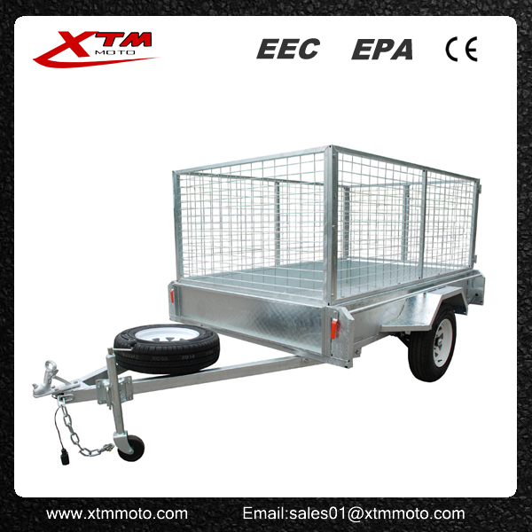 Professional Galvanised 5x8 cage trailer